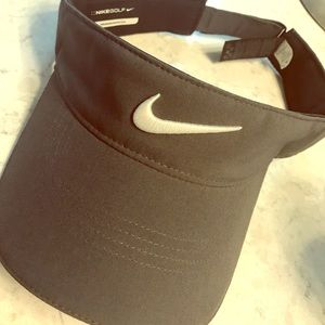 Nike Accessories - Nike Tech Swoosh Adjustable Dark Gray Visor